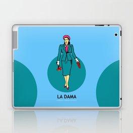 La Dama Mexican Loteria Laptop & iPad Skin