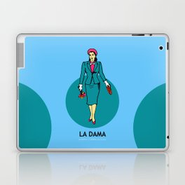 La Dama Mexican Loteria Laptop & iPad Skin
