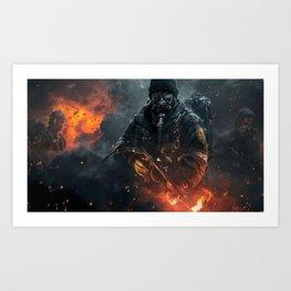TheDivision Gaming Art Print