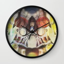 tuesdayisfightnight Wall Clock