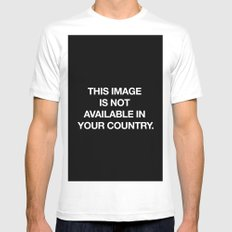This image is not available in your country White Mens Fitted Tee MEDIUM