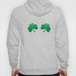 Shamrock Boobs St Patrick's Day design Hoody