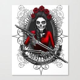 Santa Muerte 2 Canvas Print