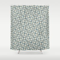 leonardo dicaprio Shower Curtains featuring Leonardo - Aquos 3 by Mauricio Cosío