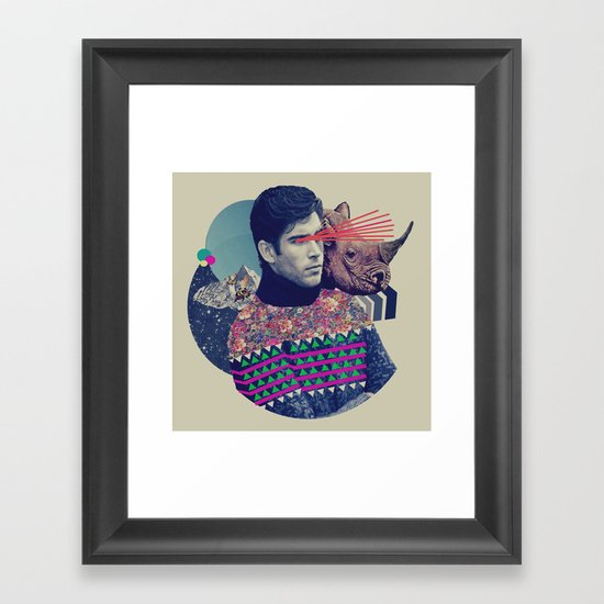 VIII Framed Art Print