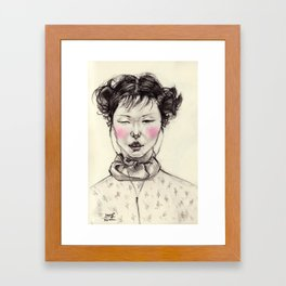 Chinese Girl Framed Art Print