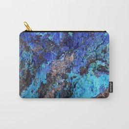 Malachite Mineral Stone rustic decor Carry-All Pouch