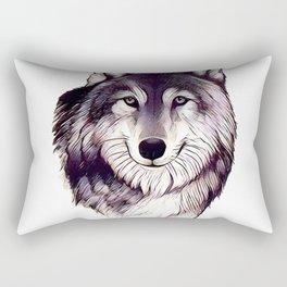 Wolfe Smile Rectangular Pillow