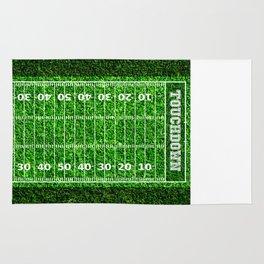 American Football Field Touchdown Rug