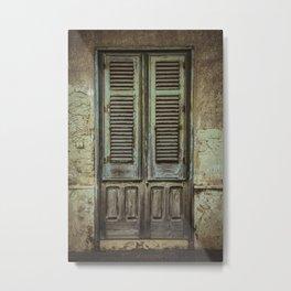 Italian Door III Metal Print