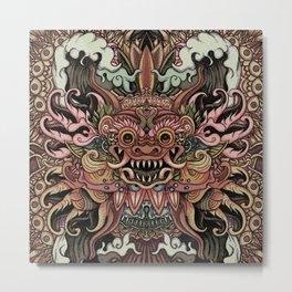 Bali Smile Metal Print