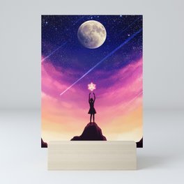 Vehicle of Light Mini Art Print