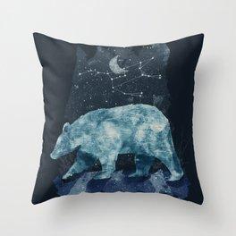 The Great Bear Throw Pillow