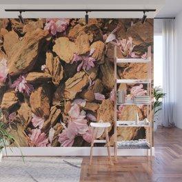 Fallen Blossoms Wall Mural