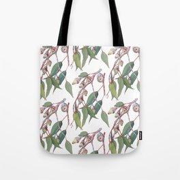 Australian eucalyptus tree branch Tote Bag