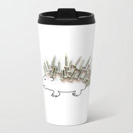 Nail Hedgehog Metal Travel Mug