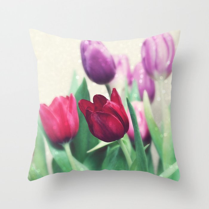 Spring Cheer Throw Pillow