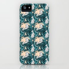 Whales and Waves Slim Case iPhone SE