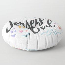 Jersey Girl Floor Pillow