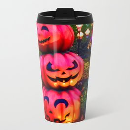 pumpkin stack colour Halloween Travel Mug