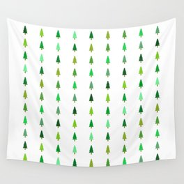 99 trees, none of them a problem Wall Tapestry