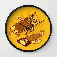doors Wall Clocks featuring Lucha Doors!  by Charity Ryan