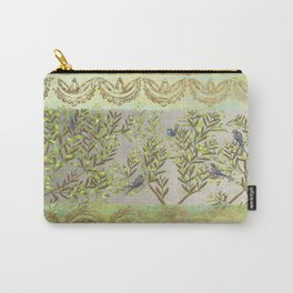 Twittering // birds // gossiping // tree branches Carry-All Pouch