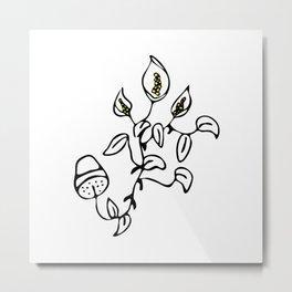 10 years of flower - Art version Metal Print