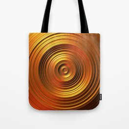 Golden Disc - for Circle Week Tote Bag
