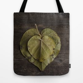 I heart leaves Tote Bag