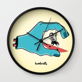 Mad Stoked Wall Clock