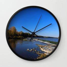 Providence Dam III Wall Clock