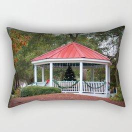 Village Christmas Rectangular Pillow