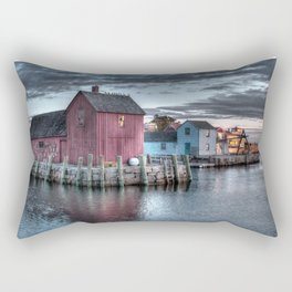 Dawn at Motif Number 1 Rectangular Pillow