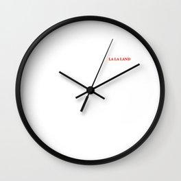 LA LA LAND Wall Clock
