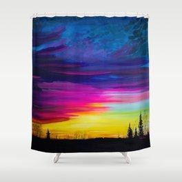 Nauwigewauk, NB Shower Curtain
