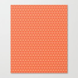 Crushing On Orange Canvas Print