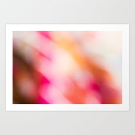 Pink Colours Art Print