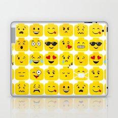 Emoji-Minifigure Laptop & iPad Skin