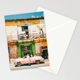 Summer in Cuba Stationery Cards