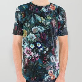 Night Garden All Over Graphic Tee