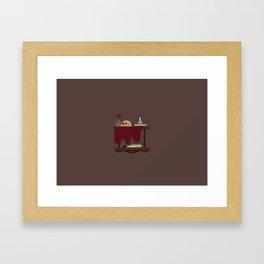 VANITAS FAIR N°05 Framed Art Print