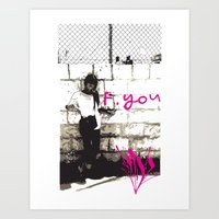 F.You Art Print