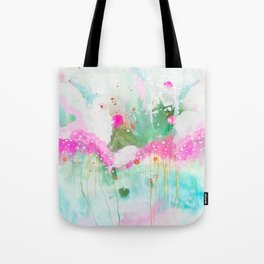 dream space, abstract painting Tote Bag