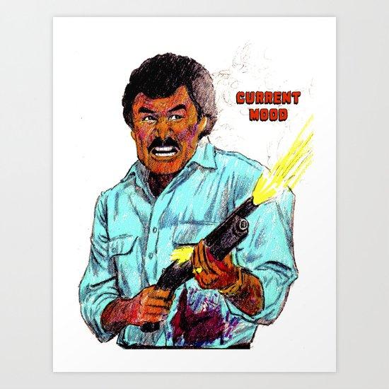 Burt Reynolds by adrockhoward