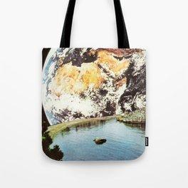La Terra da un punto di vista privilegiato Tote Bag