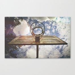 Hoosier Basketball Canvas Print