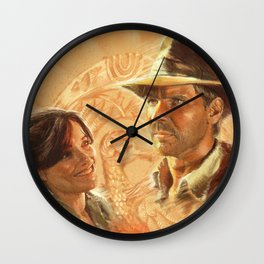 Indy with Marion Wall Clock