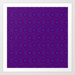 Purple Pop 2 Art Print