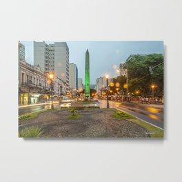 Dusk at the obelisk Metal Print